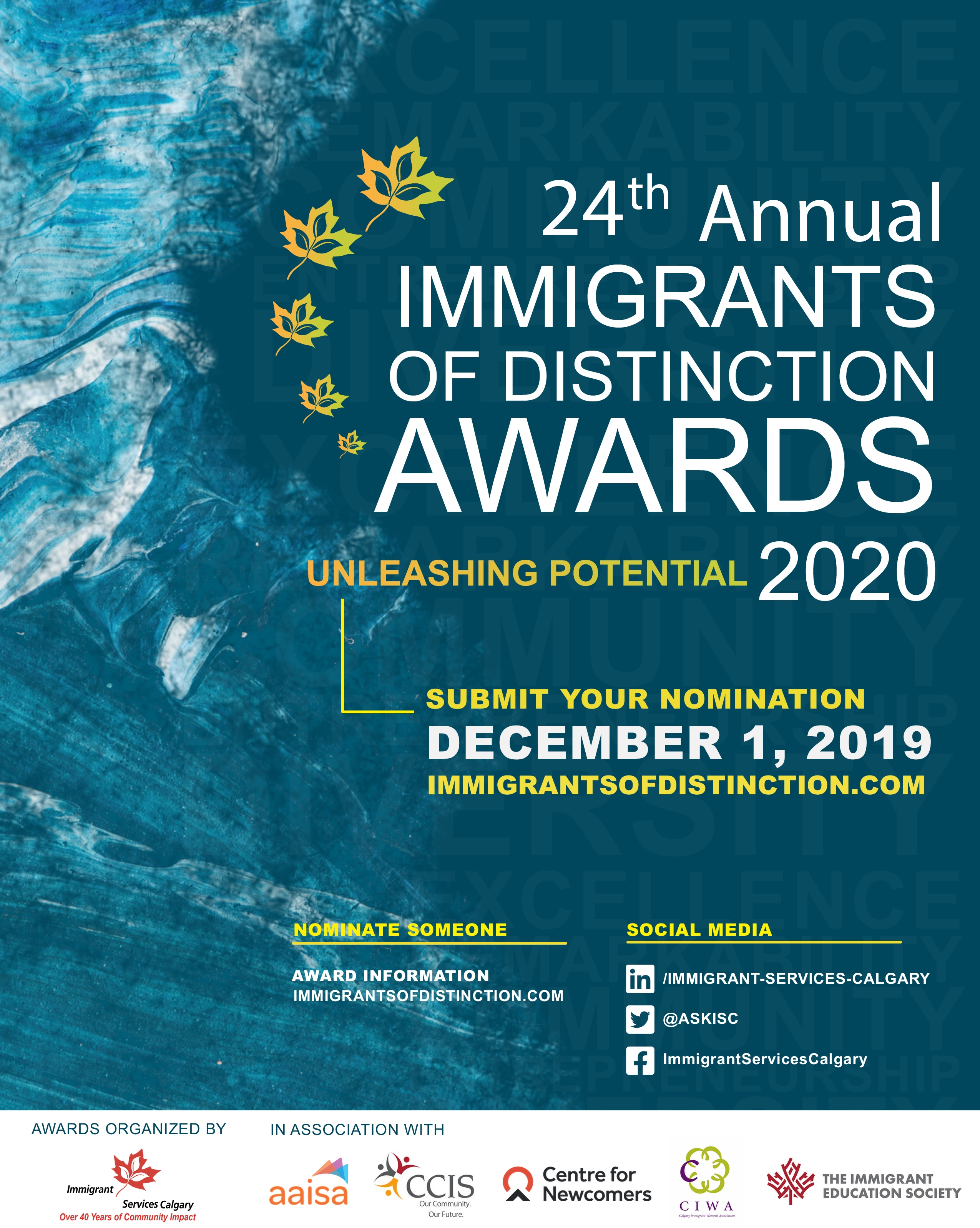 24th Annual Immigrants of Distinction Awards